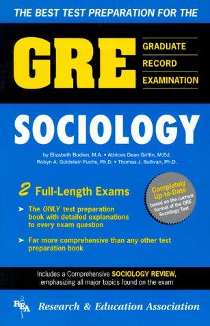 9780878919994: Graduate Record Examination: Gre Sociology (GRE Test)