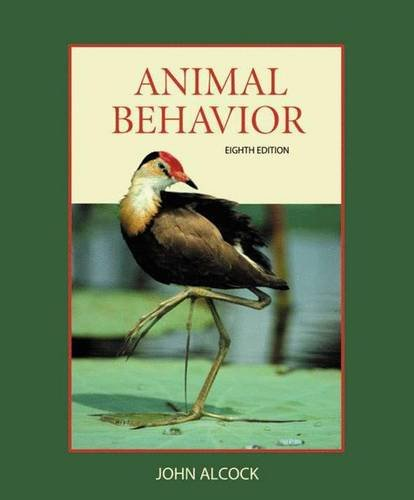 9780878930050: Animal Behavior: An Evolutionary Approach, 8th Edition