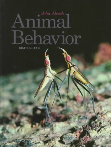 9780878930098: Animal Behavior: An Evolutionary Approach