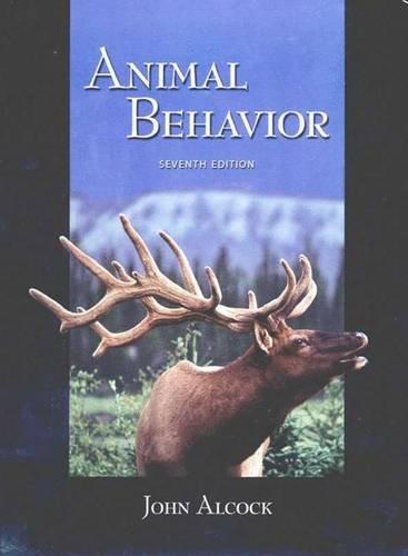 9780878930111: Animal Behaviour: An Evolutionary Approach