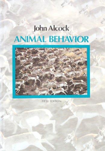 9780878930173: Animal Behaviour: An Evolutionary Approach