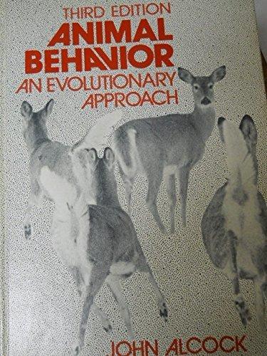9780878930210: Animal behavior: An evolutionary approach