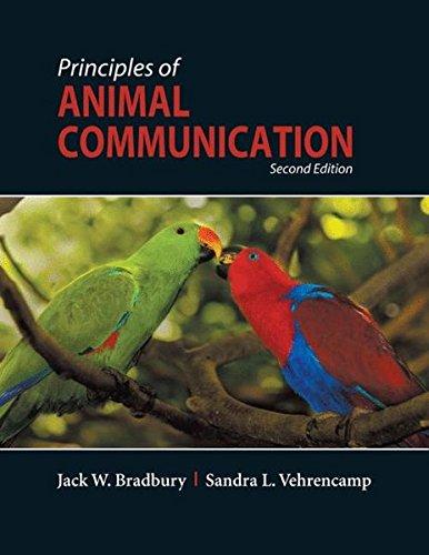 9780878930456: Principles of Animal Communication