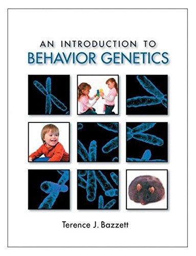 9780878930494: An Introduction to Behavior Genetics