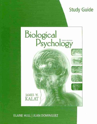 9780878930524: Biological Psychology: Study Guide