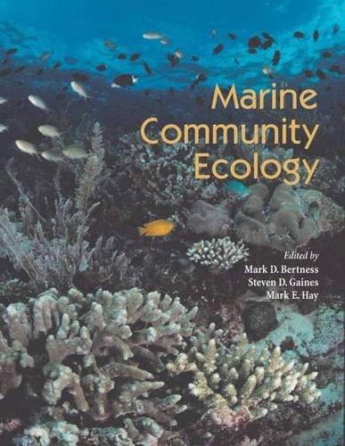 9780878930579: Marine Community Ecology