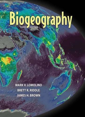 9780878930739: Biogeography