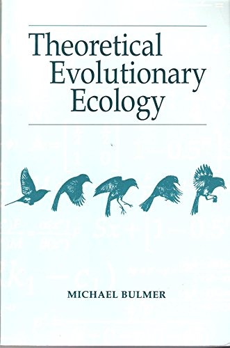 9780878930784: Theoretical Evolutionary Ecology