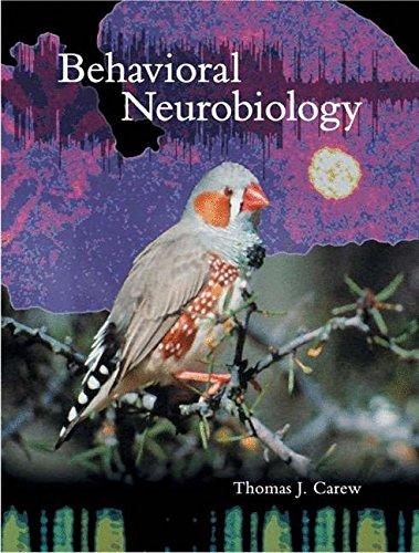 9780878930920: Behavioral Neurobiology: The Cellular Organization Of Natural Behavior