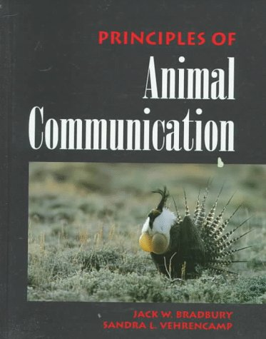 9780878931002: Principles of Animal Communication