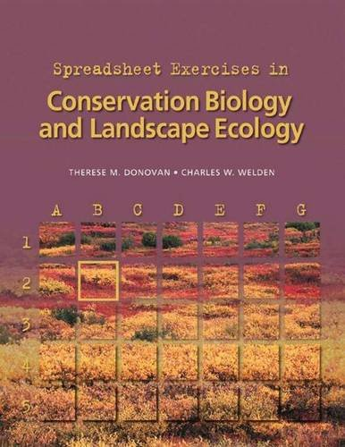 9780878931590: Spreadsheet Exercises in Conservation Biology and Landscape Ecology