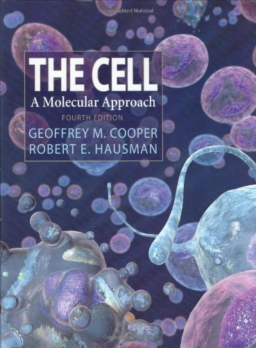 9780878932191: The Cell: A Molecular Approach, Fourth Edition