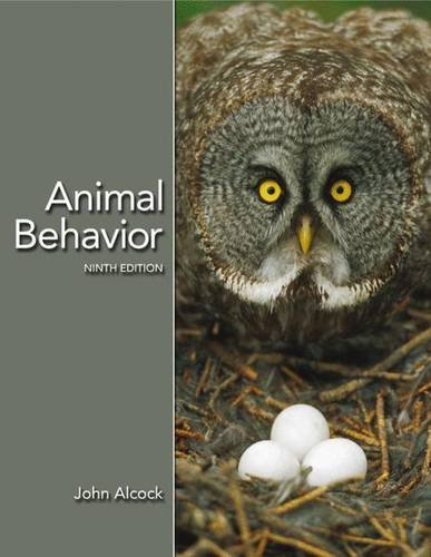 9780878932252: Animal Behavior: An Evolutionary Approach, Ninth Edition