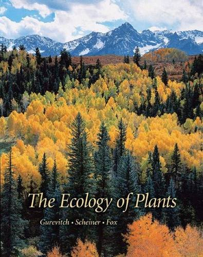 9780878932917: The Ecology of Plants
