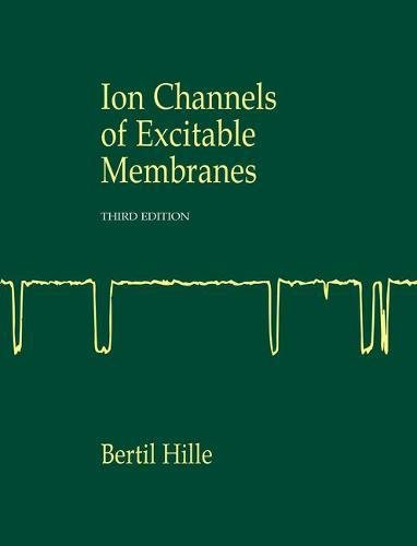 9780878933211: Ionic Channels of Excitable Membranes