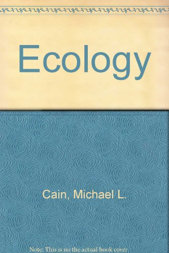 9780878933624: Ecology