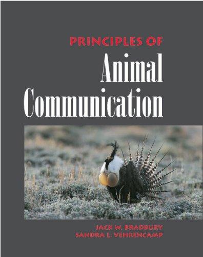 9780878933761: Principles of Animal Communication