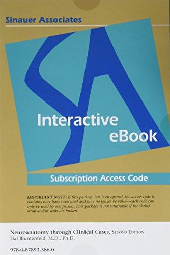 9780878933860 Neuroanatomy Through Clinical Cases Abebooks Hal