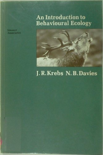 9780878934324: An Introduction to Behavioural Ecology