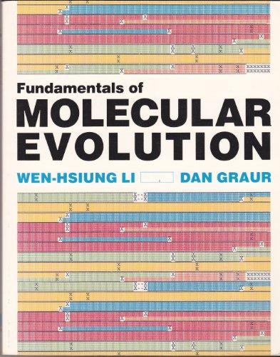 9780878934522: Fundamentals of Molecular Evolution