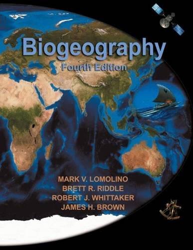 9780878934942: Biogeography