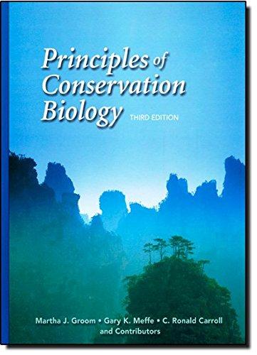 9780878935185: Principles of Conservation Biology