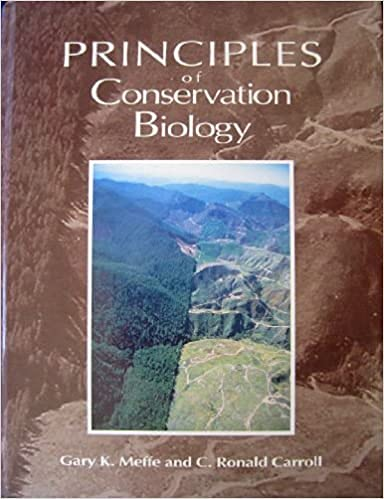 Principles of Conservation Biology: Gary K. Meffe