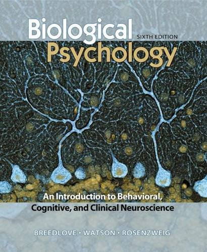 9780878935635: Biological Psychology: An Introduction to Behavioral, Cognitive, and Clinical Neuroscience