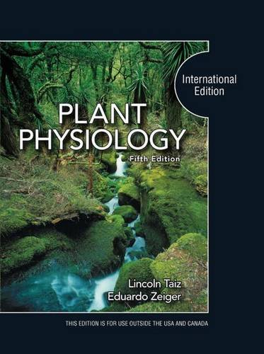 9780878935659: Plant Physiology: International Edition