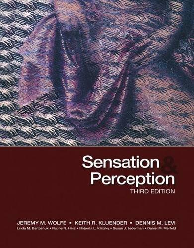 9780878935727: Sensation & Perception