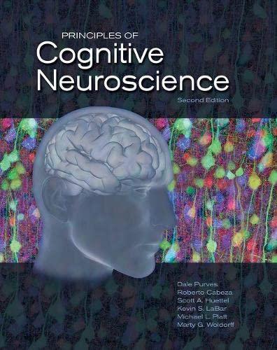 9780878935734: Principles of Cognitive Neuroscience