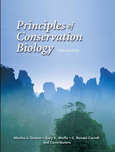 9780878935970: Principles of Conservation Biology