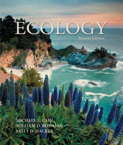 9780878936014: Ecology. Michael L. Cain, William D. Bowman and Sally D. Hacker