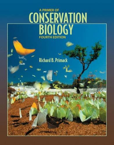 9780878936922: A Primer of Conservation Biology, Fourth Edition