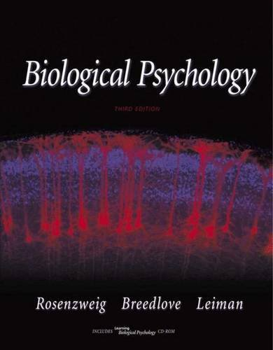 9780878937097: Biological Psychology: An Introduction to Behavioral, Cognitive and Clinical Neuroscience (Book with CD-ROM for Windows and Macintosh) [With CDROM]