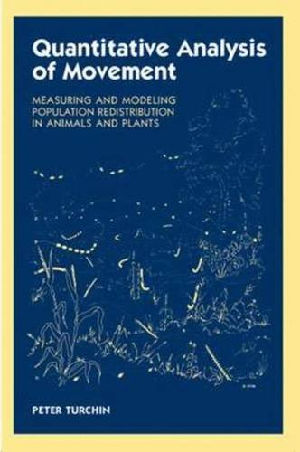 9780878938476: Quantitative Analysis of Movement: Measuring and Modeling Population Redistribution in Animals and Plants