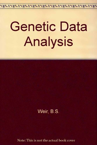 9780878938728: Genetic Data Analysis