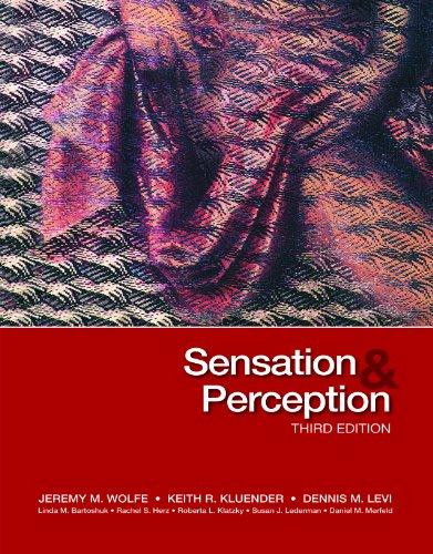 9780878938766: Sensation & Perception (Looseleaf), Third Edition