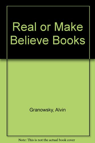 Real or Make Believe Books: Janis Asad Raabe