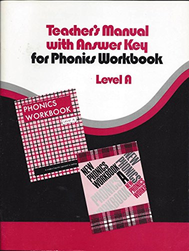 Teacher's manual with answer key for Phonics: Elwell, Clarence Edward