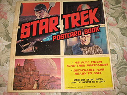 9780878970483: Star Trek Postcard Book: 48 Full Color Star Trek Postcards!, Detachable and Ready to Use!, Action and Portrait Photos from TV's Greatest Sci-Fi Series