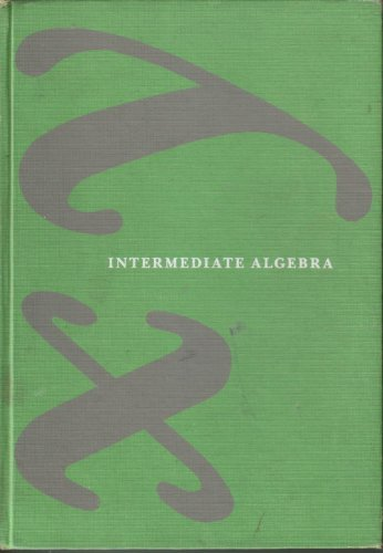 9780879010133: Intermediate Algebra