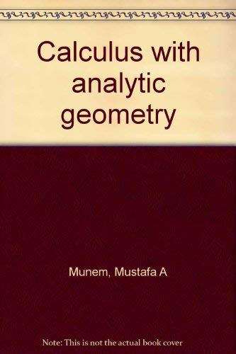 9780879010874: Calculus with analytic geometry