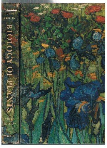 9780879011321: Biology of plants