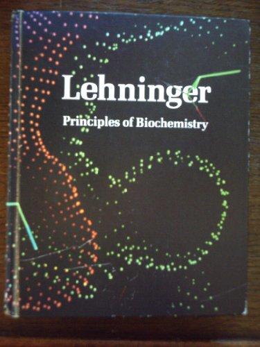 Principles of Biochemistry: A. Lehninger