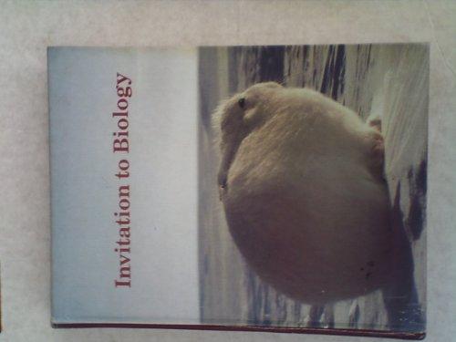 9780879012557: Invitation to Biology