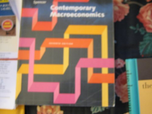 9780879014216: Contemporary Macroeconomics : Subj
