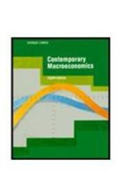 9780879016159: Contemporary Macroeconomics