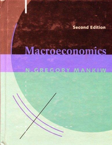 Macroeconomics (0879017228) by Mankiw, N. Gregory