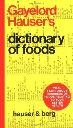 9780879040086: Dictionary of Foods